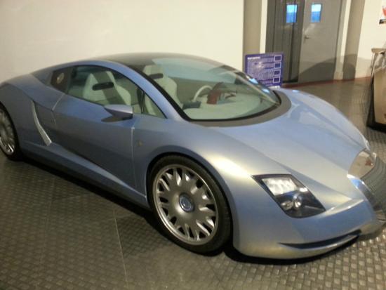 Museo de la Historia de la Automoción: Concept car Hispano Suiza