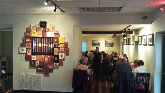 Ruskin, FL: A tribute to the cigar-making history of Ybor City, hometown of the restaurant owner