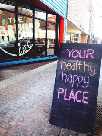 Cabin Coffee House & Cafe: This is very true, I love it here! The food is amazing and the staff is always friendly!!