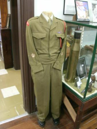 Bowraville, Australia: One of the many Army Military uniforms