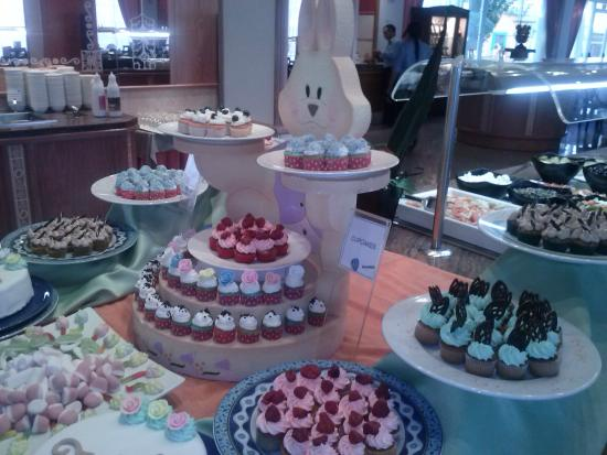 جروبوتيل ألكوديا سويت: gala de mini cup cakes