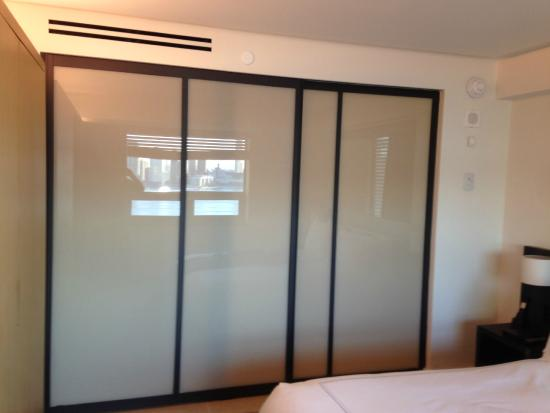 Sliding Door Separating The Living Room And Bedroom Picture Of
