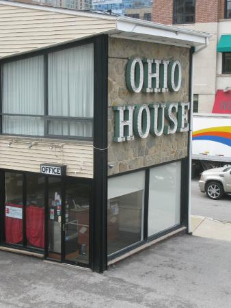 Ohio House Motel: Front office
