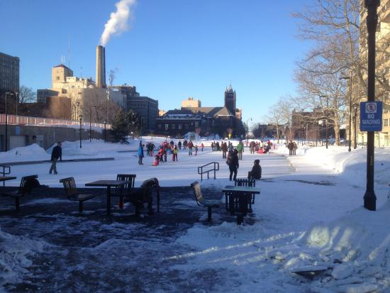 Manhattan Square Park and Ice Rink