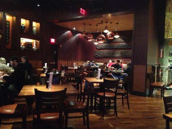 pf chang dining room 1 picture of p f chang s victor tripadvisor