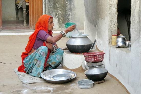 Malpura, Indien: Cooking