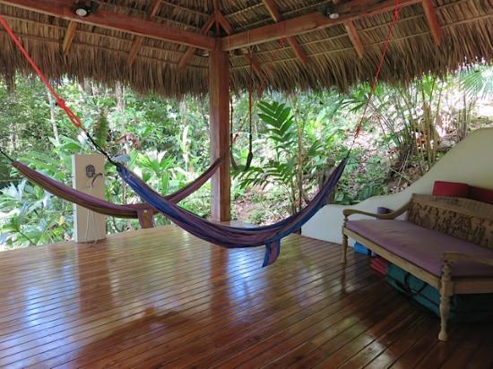 Prana Rainforest Retreat: Relax or get a massage!