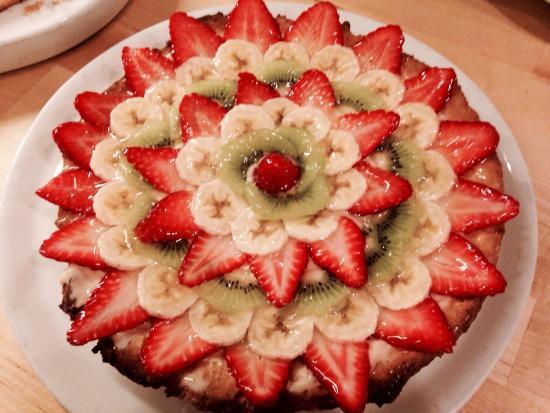 Pizzeria dell'oca: Crostata alla frutta