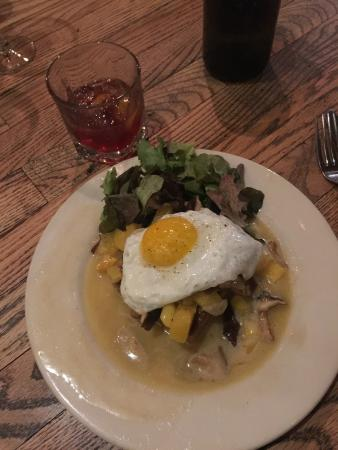 Harvest: The (cannot remember name) egg, squash, and wheat cake