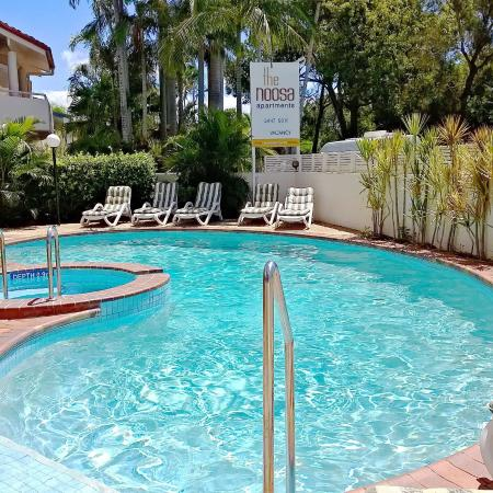 The Noosa Apartments: Outdoor Pool