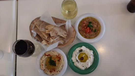 Kurdi's Fresh Mediterranean Grill: I say let's try stuff