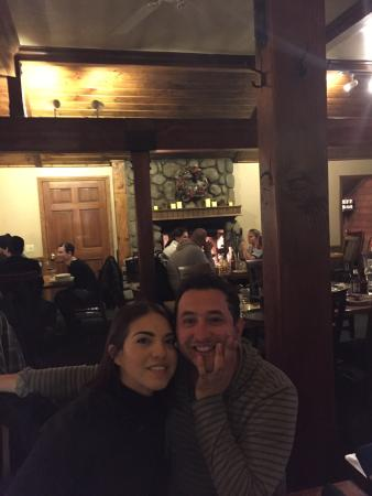 CJ's Grill: My brother and wife��