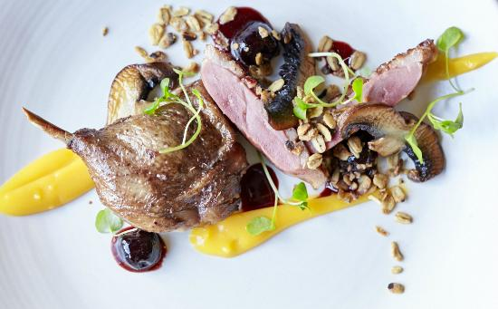 One Tree Grill: Confit Duck Leg and Smoked Duck Breast