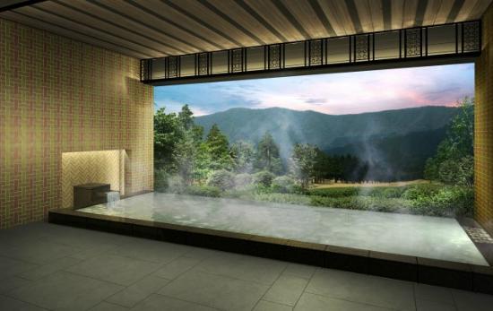 Hakone Sengokuhara Prince Hotel: OPEN_AIR Bath