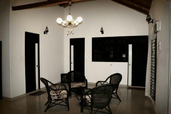 Prasanna Village Inn: wifi area!