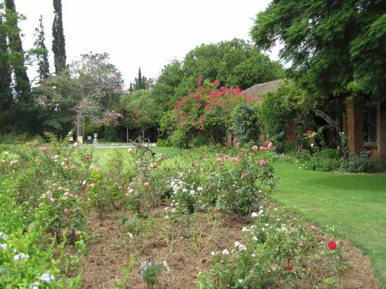 Gerald's Gift Guest House: Gardens and grounds