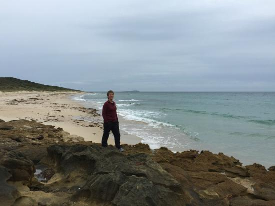 King Island Holiday Village: One of the beautiful beaches around the island