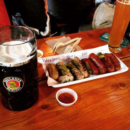 Prost: Perfect lunch.