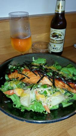 Motchiya: Saumon grillé etalgue Nori