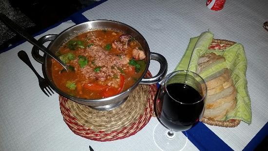 Restaurante Malagueta: Arroz con pulpo