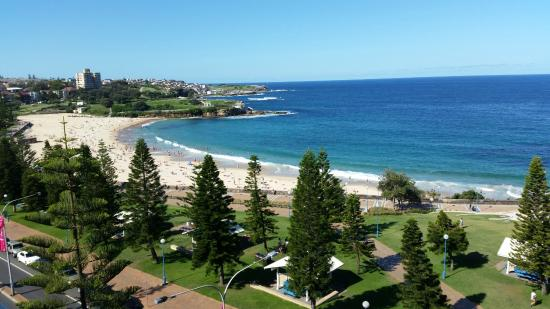 Crowne Plaza Hotel Coogee Beach Sydney View Of From The Balcony