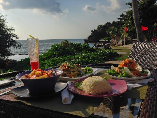 Chills Resort: Awesome food!