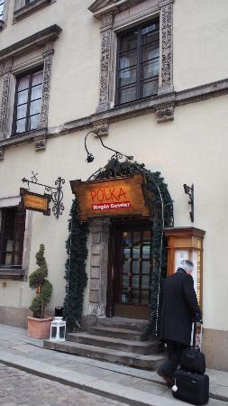 Polka Restauracja: Eingang