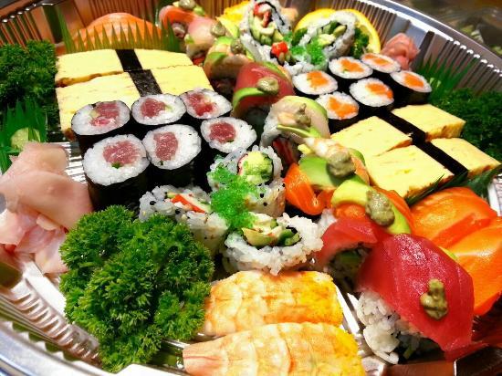 Ace Wasabi: Sushi platter take away for b-day