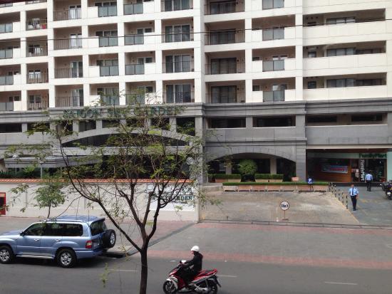 Saigon Sky Garden : 外観