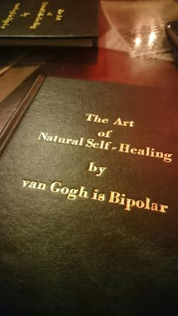 Van Gogh is Bipolar: Your guide for the healing/dining experience