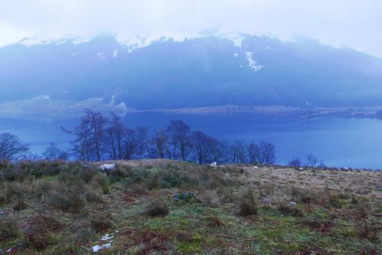 Monachyle Mhor: Stunning views!
