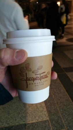 Jacques Torres Chocolate Haven : Chocolate Quente