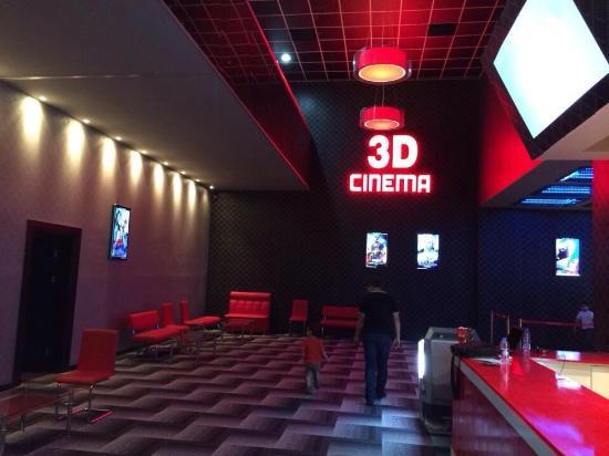 Mazi mall cinemax inside , it got 3 halls for movies
