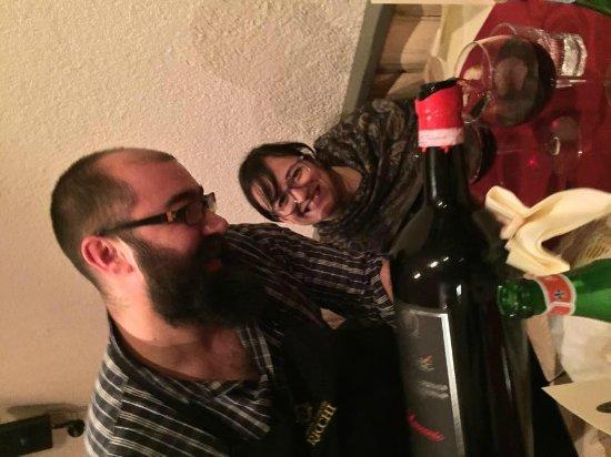 La Vineria : Forza Lele che pesano 5 Litri di Laccento