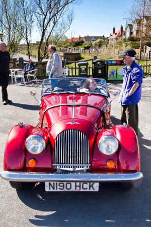 Lytham St Anne, UK: Classic Car Rally - Fairhaven lake