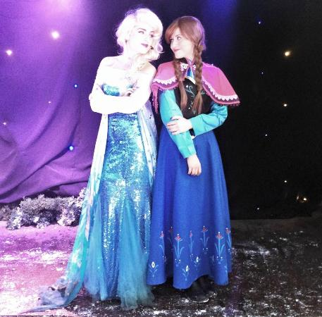 Tarvin, UK: The frozen experience fantastic !!!