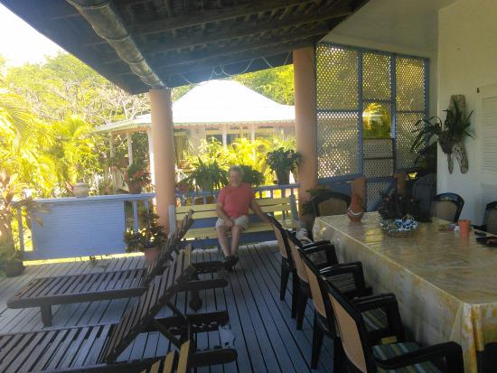 Villa Caribbean Dream : on the balcony
