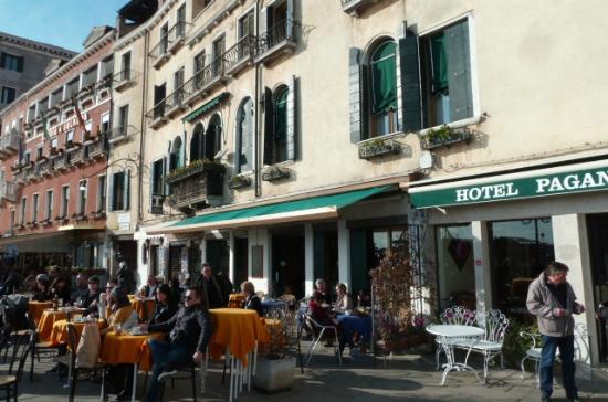 Hotel Paganelli Entrée Sur Quai Riva Degli Schiavoni
