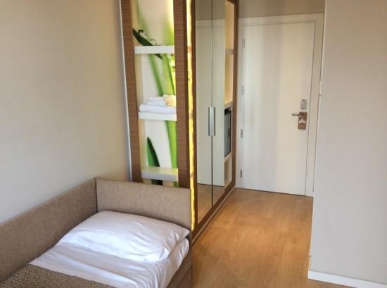 Oxygen Lifestyle Hotel Helvetia Parco : ingresso tripla