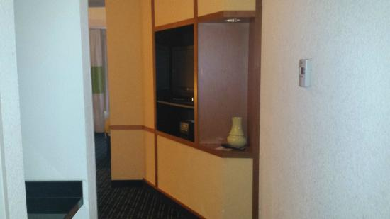 Fairfield Inn & Suites Melbourne Palm Bay/Viera : View from door into suite