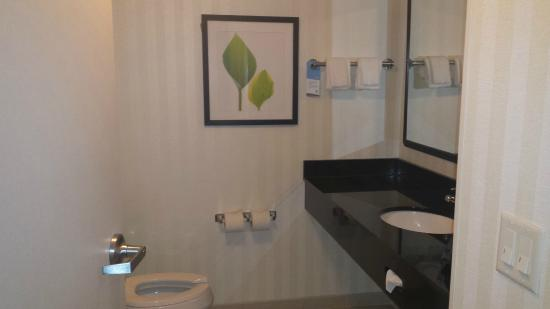 Fairfield Inn & Suites Melbourne Palm Bay/Viera : Bathroom