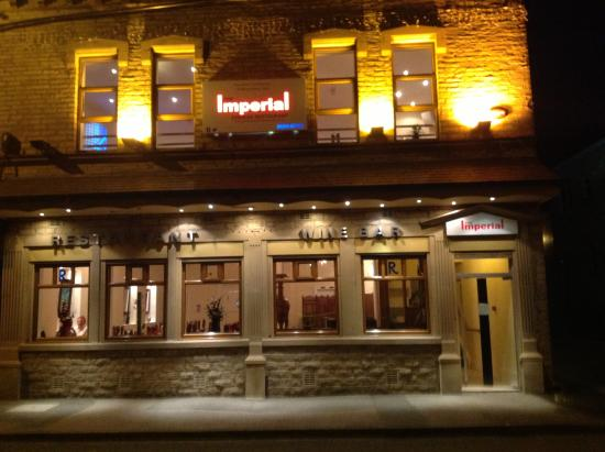 The Imperial: External of Restaurant