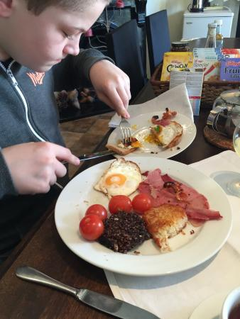 Carbery Cottage Guest Lodge: Full irish breakfirst delisius
