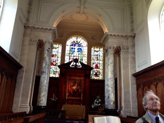 Pembroke College - Christopher Wren's Chapel