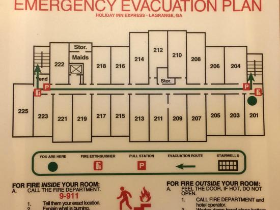 Floor Plan Picture of Holiday Inn Express Suites LaGrange