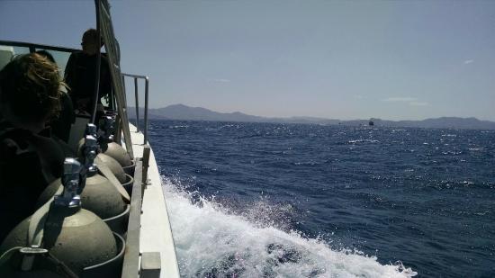Aquacenter Diving: Boat