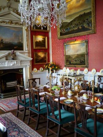Castle howard library picture of castle howard york for Best restaurants with rooms yorkshire