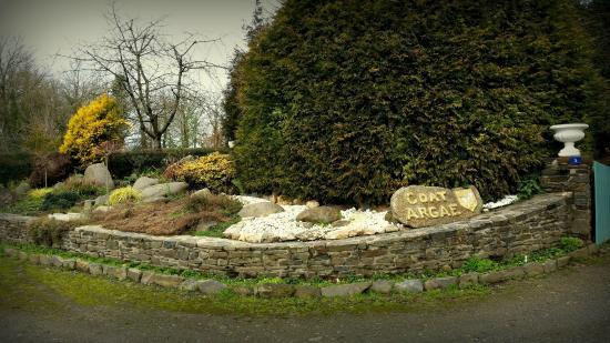 Les Prés Fleuris de Coat Argae : Entrée Gauche