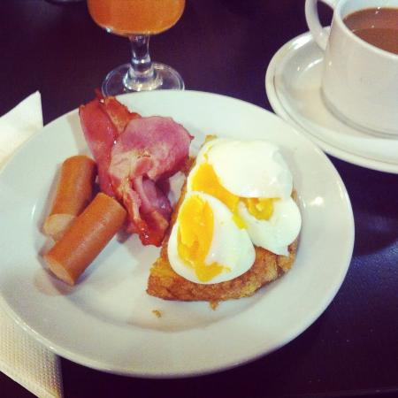 Hotel Erzsebet City Center : Frukost!