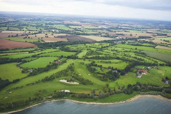 Aerial View Of 18 Hole Champion Golf Course Picture Of Draycote Hotel Rugby Tripadvisor